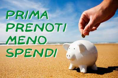 Prenota Prima.....Spendi Meno....