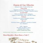 Cenone di San Silvestro - La nostra Proposta