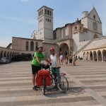 Visitare Assisi e l' Umbria in Bici !