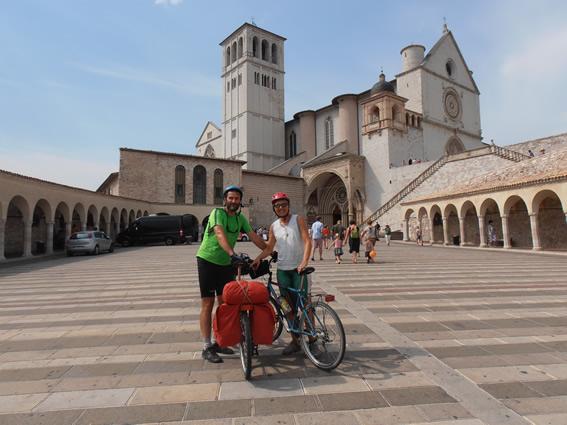 Umbria in Bici....partendo da Assisi !